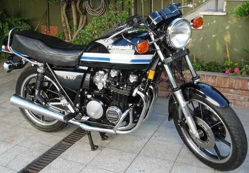 Motorcycle Kawasaki Z 750