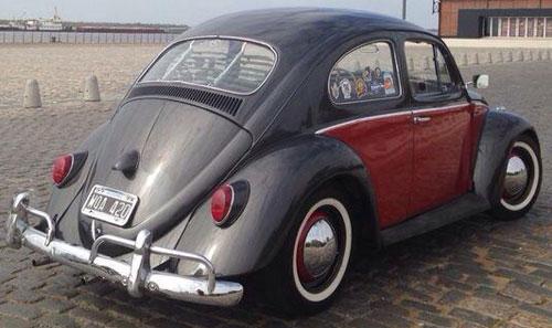 Car Volkswagen Escarabajo Alemán 1961