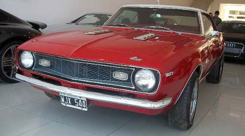 Car Chevrolet Camaro 1967