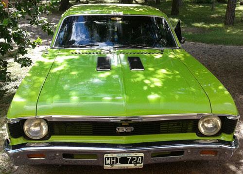 Auto Chevrolet S2 1973
