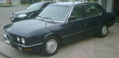 Car BMW 524 TD
