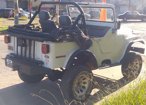 Auto Jeep IKA CJ5