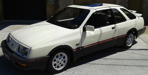 Car Ford Sierra XR4