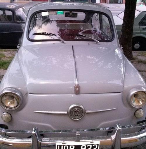Car Fiat 600 1961 Italiano