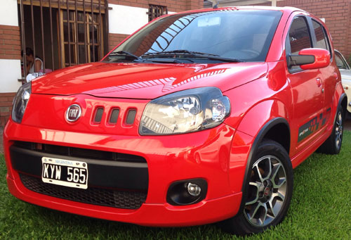 Auto Fiat Uno Sporting