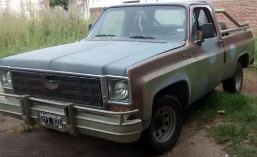 Auto Chevrolet C10 1978