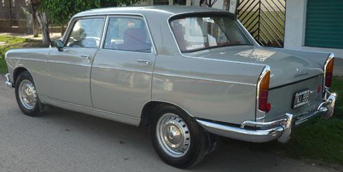 Car Peugeot 404 1968