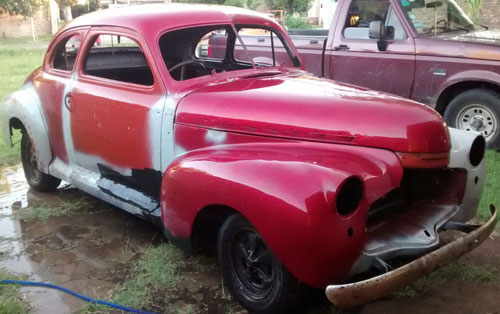 Car Chevrolet Coupé 1941