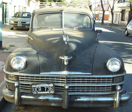 Auto Chrysler Windsor 1946
