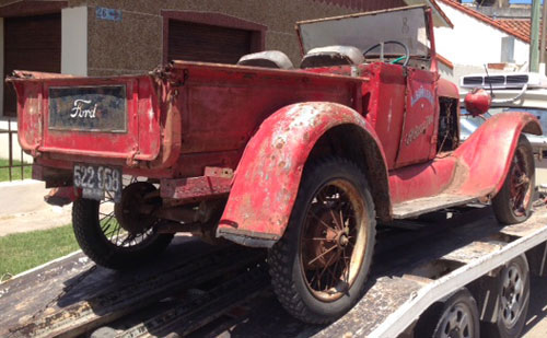 Auto Ford A Pick Up 1928