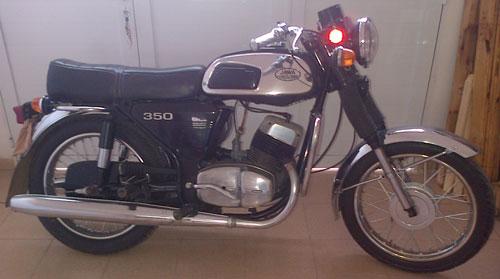 Motorcycle Jawa 350 634 1979
