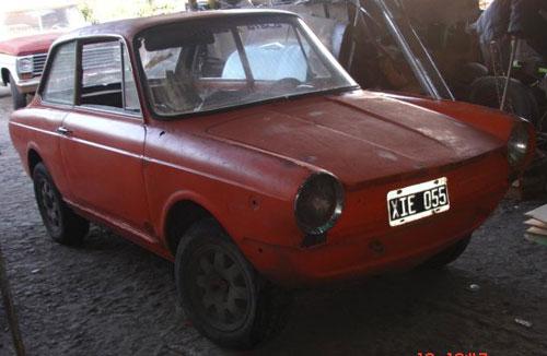 Auto Fiat 850 1966