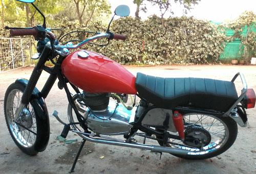 Motorcycle Gilera 1958