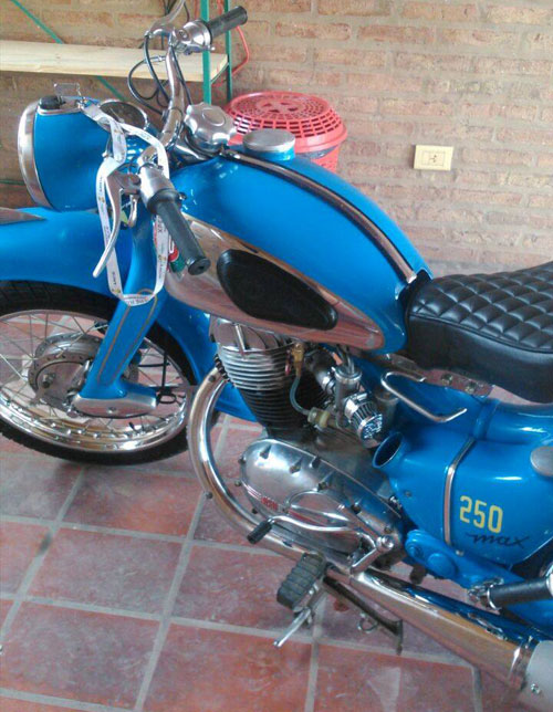 Motorcycle NSU Max 1956