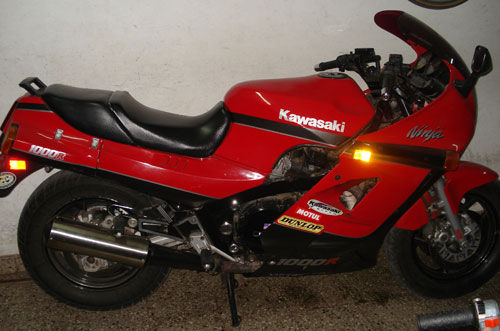 Motorcycle Kawasaki Ninja 1000R