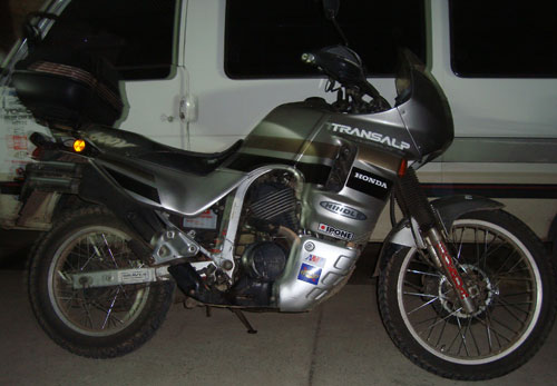 Honda Transalp Motorcycle