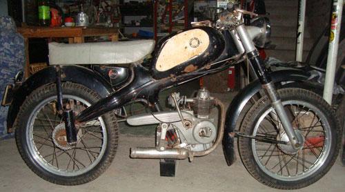 Motorcycle Motom 1957