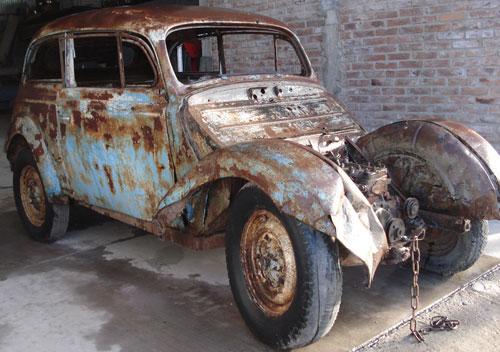 Car Opel 1937