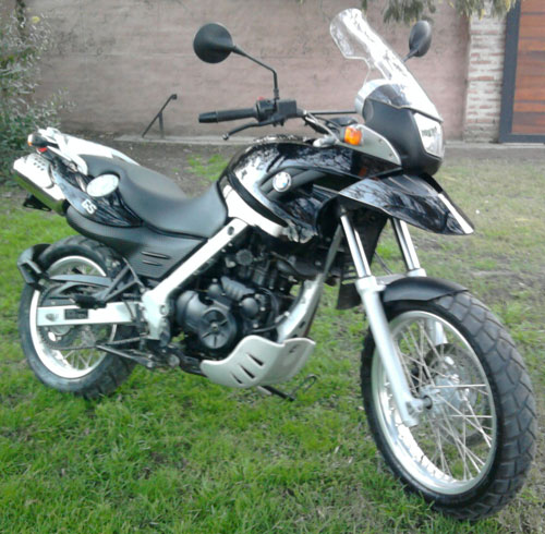 Car BMW G 650 GS