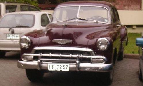 Car Chevrolet Deluxe