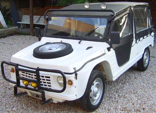Car Citroen Mehari IES Safari
