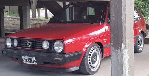 Auto Volkswagen Golf MK2 1989