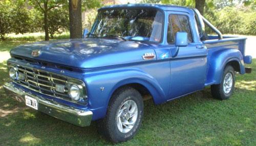 Auto Ford F100 1964