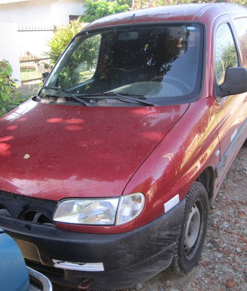 Auto Peugeot Partner 2010