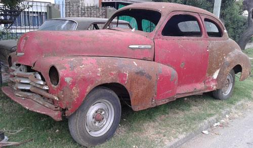 Auto Chevrolet 1947 Style Master