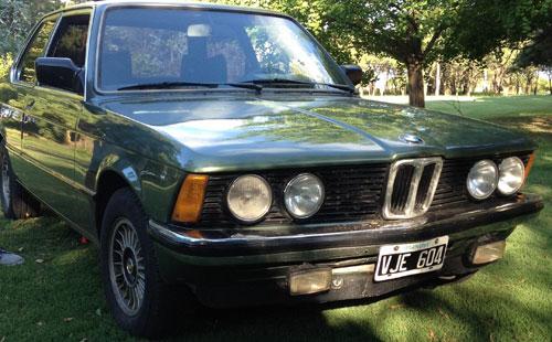 Car BMW 318 1981