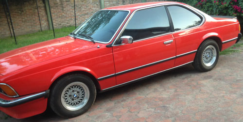 Car BMW 635 CSI