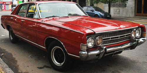 Car Ford Fairlane 1969