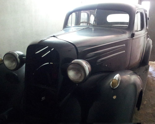 Car Chevrolet 1936 Sed�n
