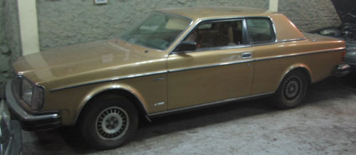 Auto Volvo 262 C Bertone