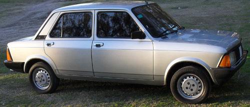 Auto Fiat Super Europa 1987