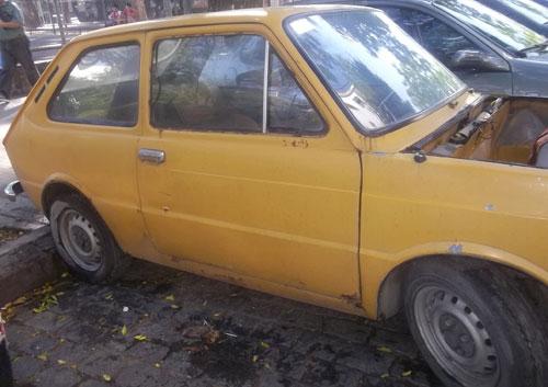 Car Fiat 133 1978