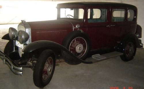 Auto Buick 1931 57 Sedán De Llujo