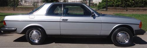 Car Mercedes Benz 280 CE