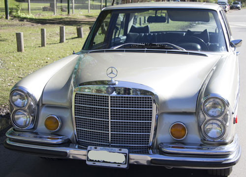 Car Mercedes Benz 280 SE 4.5 1972