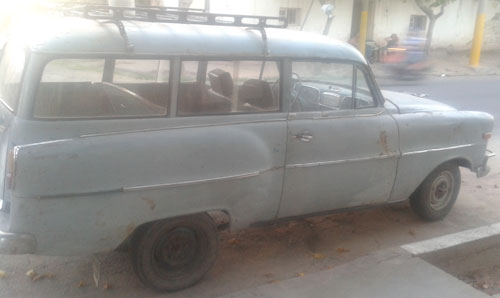 Car Opel Olympia