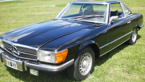 Car Mercedes Benz 350 SL