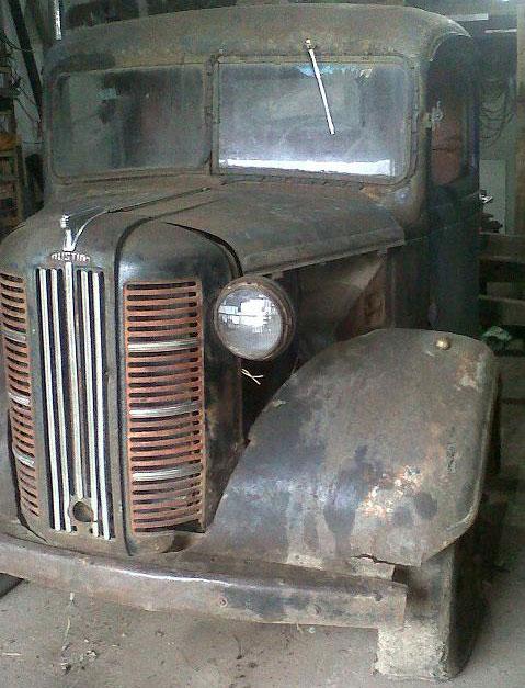 Car Austin K4