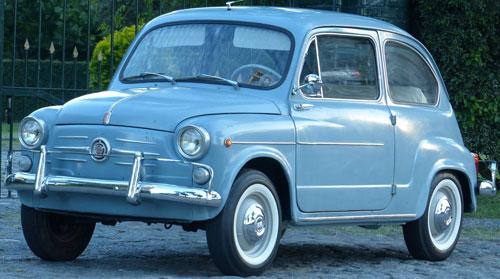 Car Fiat 600D