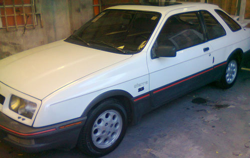 Auto Ford Sierra XR4 Coupé