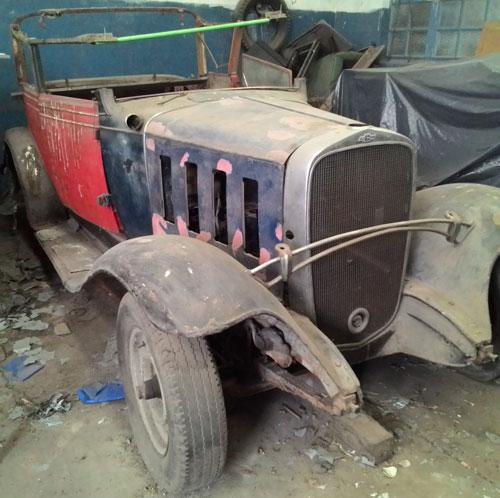 Car Chevrolet 1932 Landeau