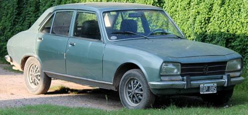 Car Peugeot 504 1980