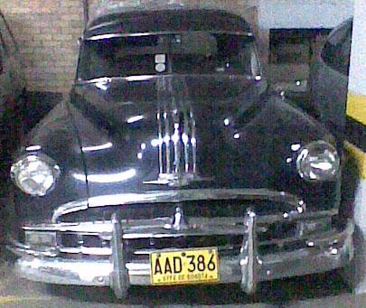 Car Pontiac 1949