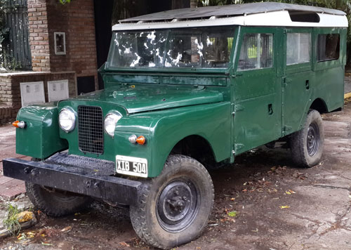 Car Land Rover Jeep Serie 2