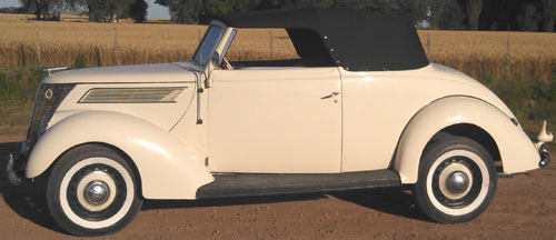 Car Ford Coupé 1937 Convertible