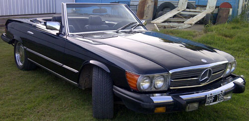 Car Mercedes Benz 380 SL